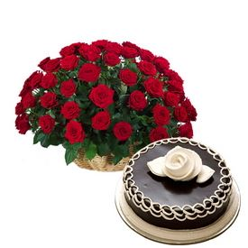 Order Flowers Online Combos Arrangement with Fresh Flower