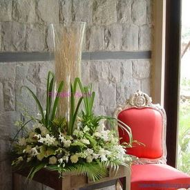Tall arrangements & Decoration